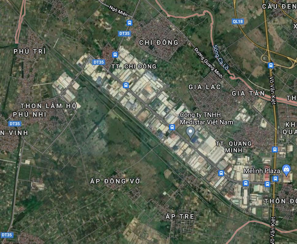 Đường sẽ mở ở huyện Mê Linh, Hà Nội - Ảnh 2.