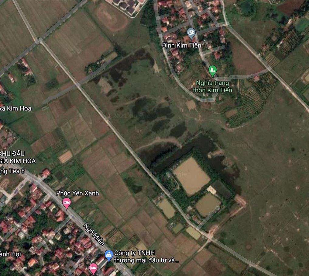 Đường sẽ mở ở xã Kim Hoa, Mê Linh, Hà Nội - Ảnh 2.