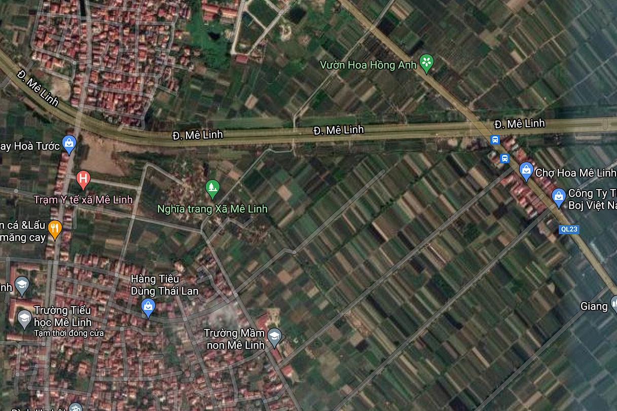 Đường sẽ mở ở xã Mê Linh, huyện Mê Linh, Hà Nội - Ảnh 2.