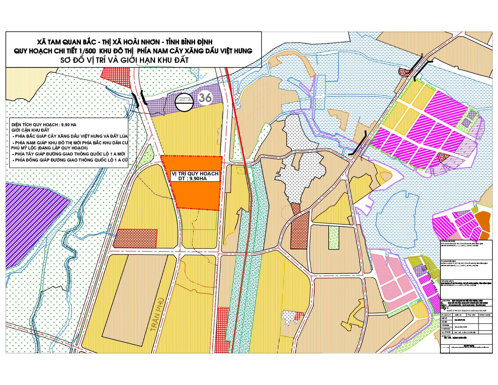 Bình Định tìm chủ cho Khu đô thị phía nam cây xăng dầu Việt Hưng  - Ảnh 1.