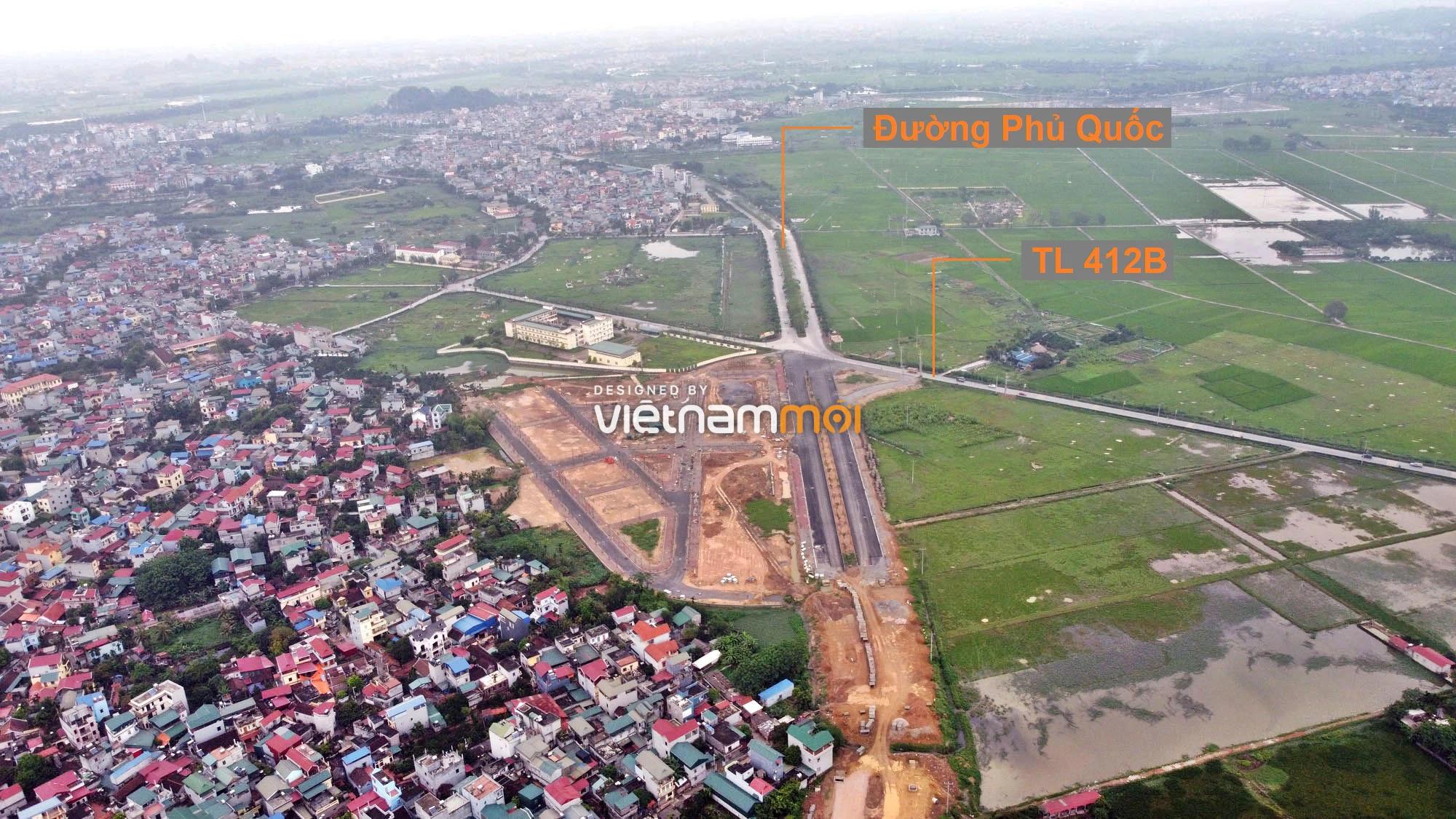 Toàn cảnh đường trục chính Bắc - Nam KĐT Quốc Oai kéo dài đang mở theo quy hoạch ở Hà Nội - Ảnh 15.