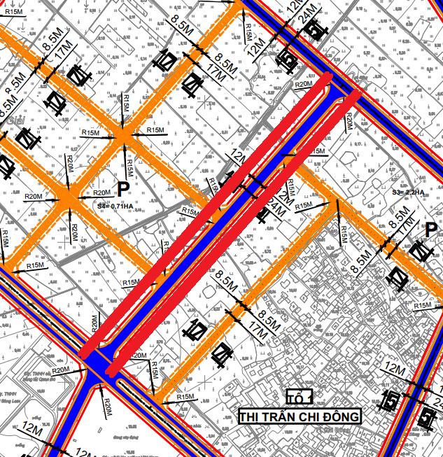 Đường sẽ mở ở thị trấn Chi Đông, Mê Linh, Hà Nội - Ảnh 1.
