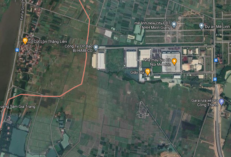 Đường sẽ mở ở xã Tráng Việt, Mê Linh, Hà Nội - Ảnh 2.