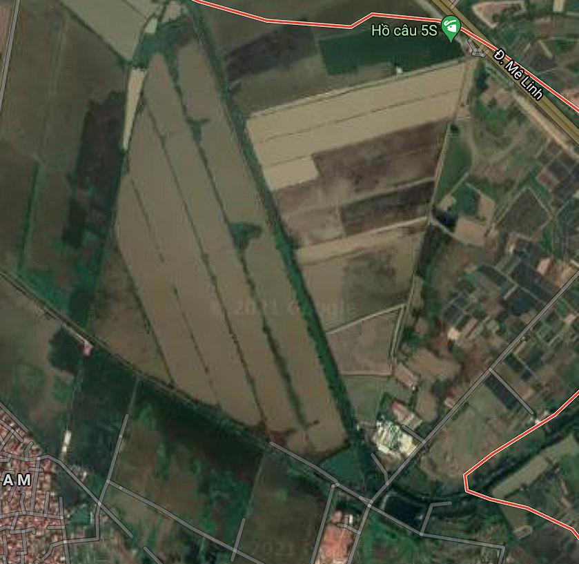 Đường sẽ mở ở xã Văn Khê, Mê Linh, Hà Nội - Ảnh 2.