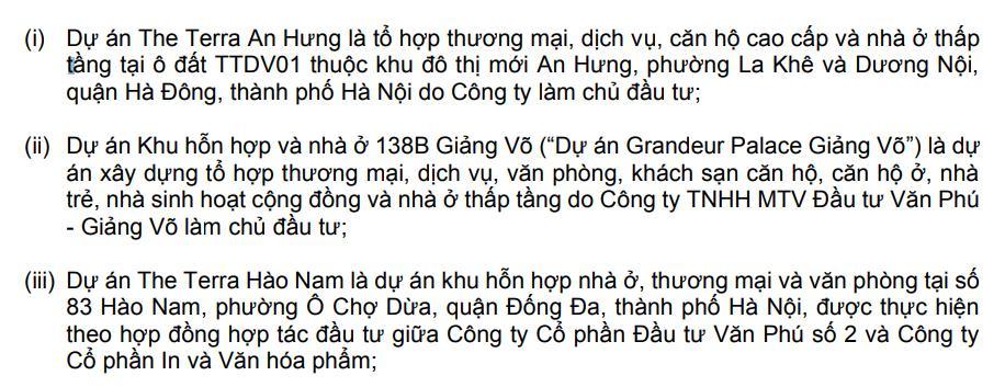 Doanh thu bán bất động sản quý I của Văn Phú – Invest tăng 80% - Ảnh 2.