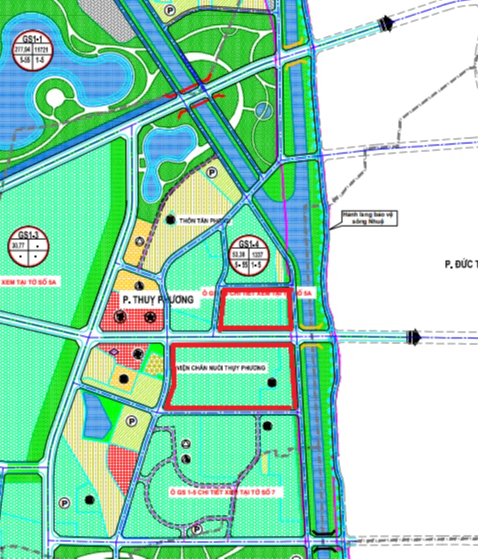 Đất dính quy hoạch ở phường Thuỵ Phương, Bắc Từ Liêm, Hà Nội - Ảnh 1.