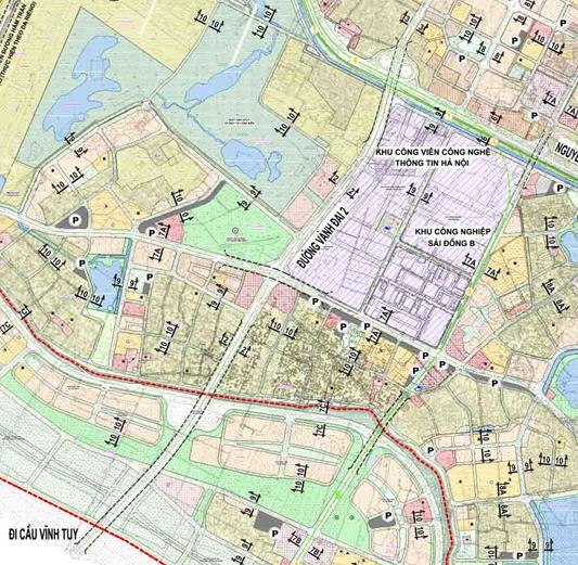 Bản đồ quy hoạch giao thông phường Long Biên, quận Long Biên, Hà Nội - Ảnh 2.