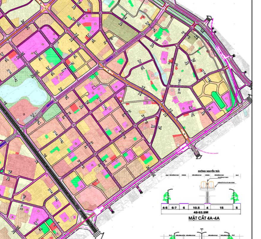 Bản đồ quy hoạch giao thông quận Thanh Xuân, Hà Nội - Ảnh 2.