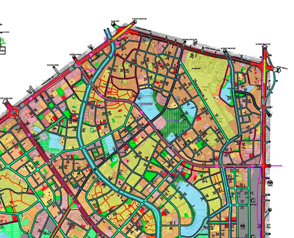 Bản đồ quy hoạch giao thông quận Thanh Xuân, Hà Nội - Ảnh 3.