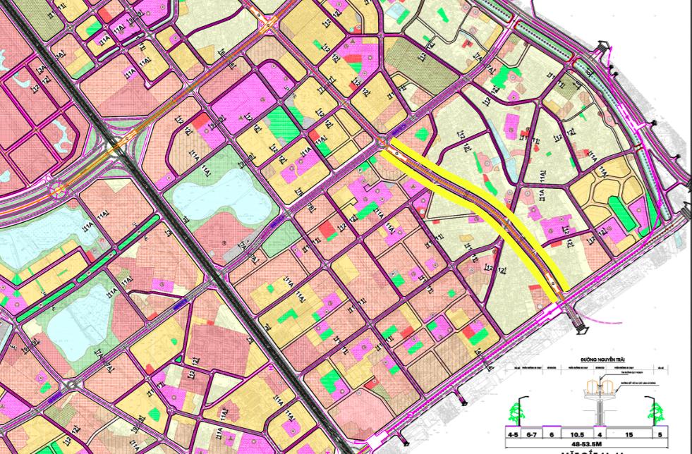 Đường sẽ mở ở quận Thanh Xuân, Hà Nội - Ảnh 1.