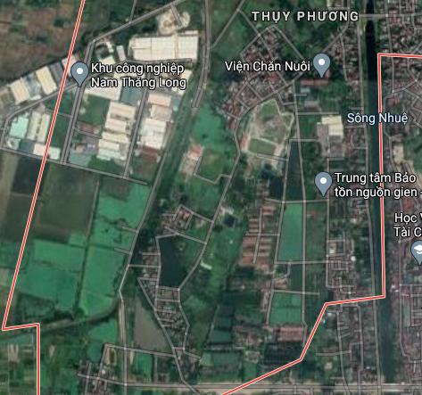 Đất dính quy hoạch ở phường Thuỵ Phương, Bắc Từ Liêm, Hà Nội - Ảnh 2.