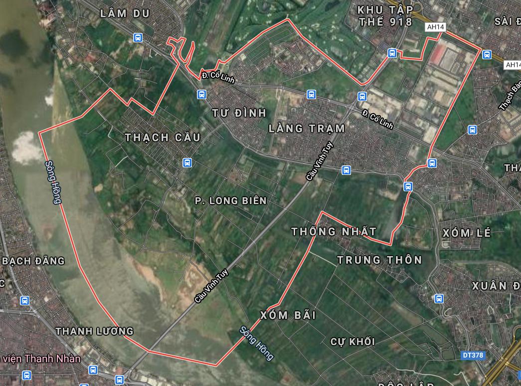 Bản đồ quy hoạch giao thông phường Long Biên, quận Long Biên, Hà Nội - Ảnh 1.
