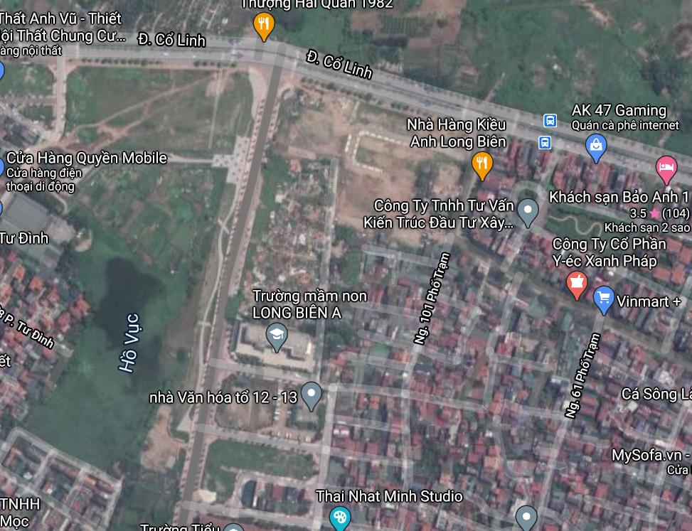 Đường sẽ mở ở phường Long Biên, quận Long Biên, Hà Nội - Ảnh 2.