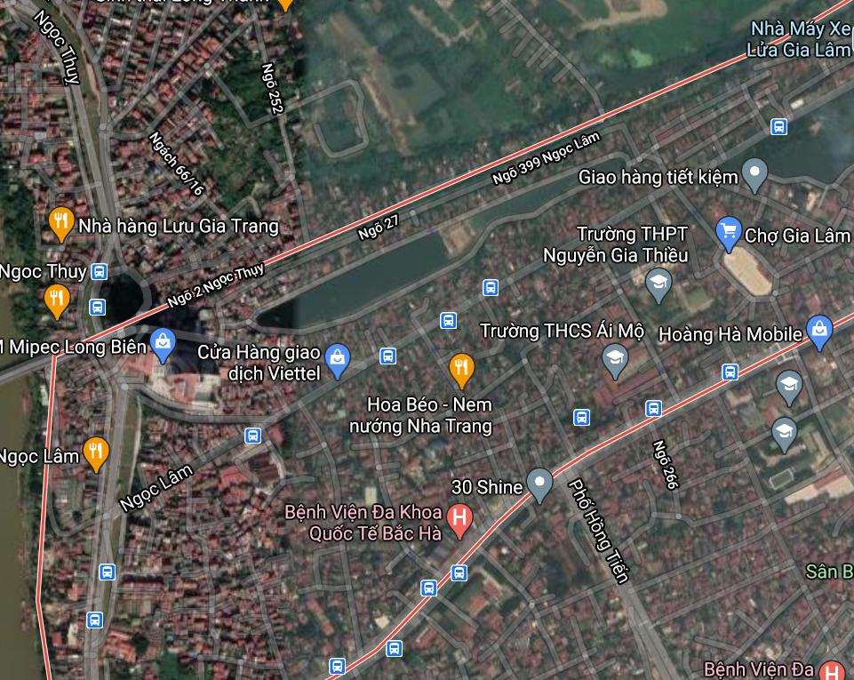 Đường sẽ mở ở phường Ngọc Lâm, Long Biên, Hà Nội - Ảnh 2.