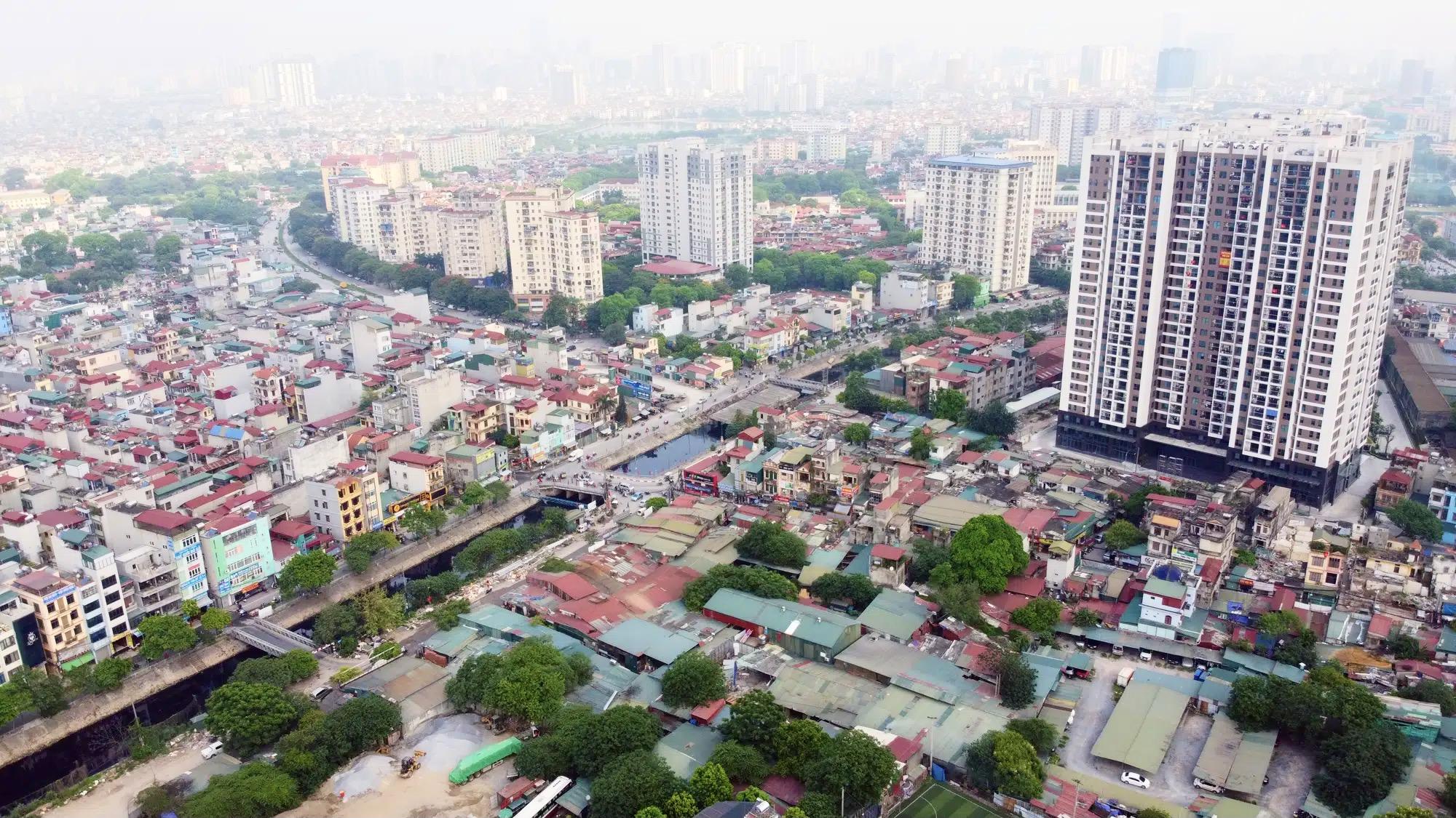 Duyệt kế hoạch sử dụng đất quận Hoàng Mai, Hà Nội năm 2021, đáng chú ý có dự án trung tâm thương mại Aeon Mall - Ảnh 1.