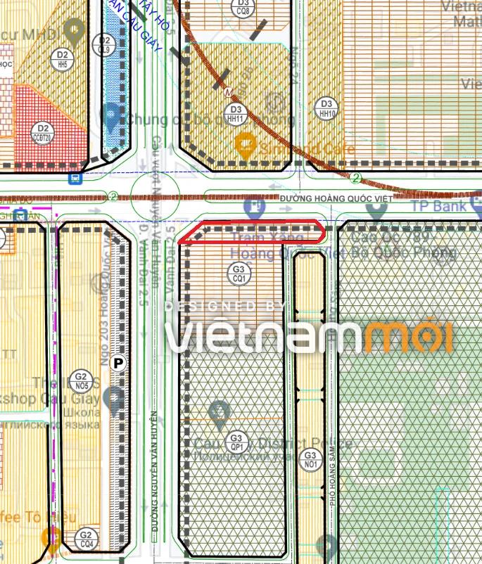 Những khu đất dính quy hoạch ở phường Nghĩa Đô, Cầu Giấy, Hà Nội - Ảnh 2.