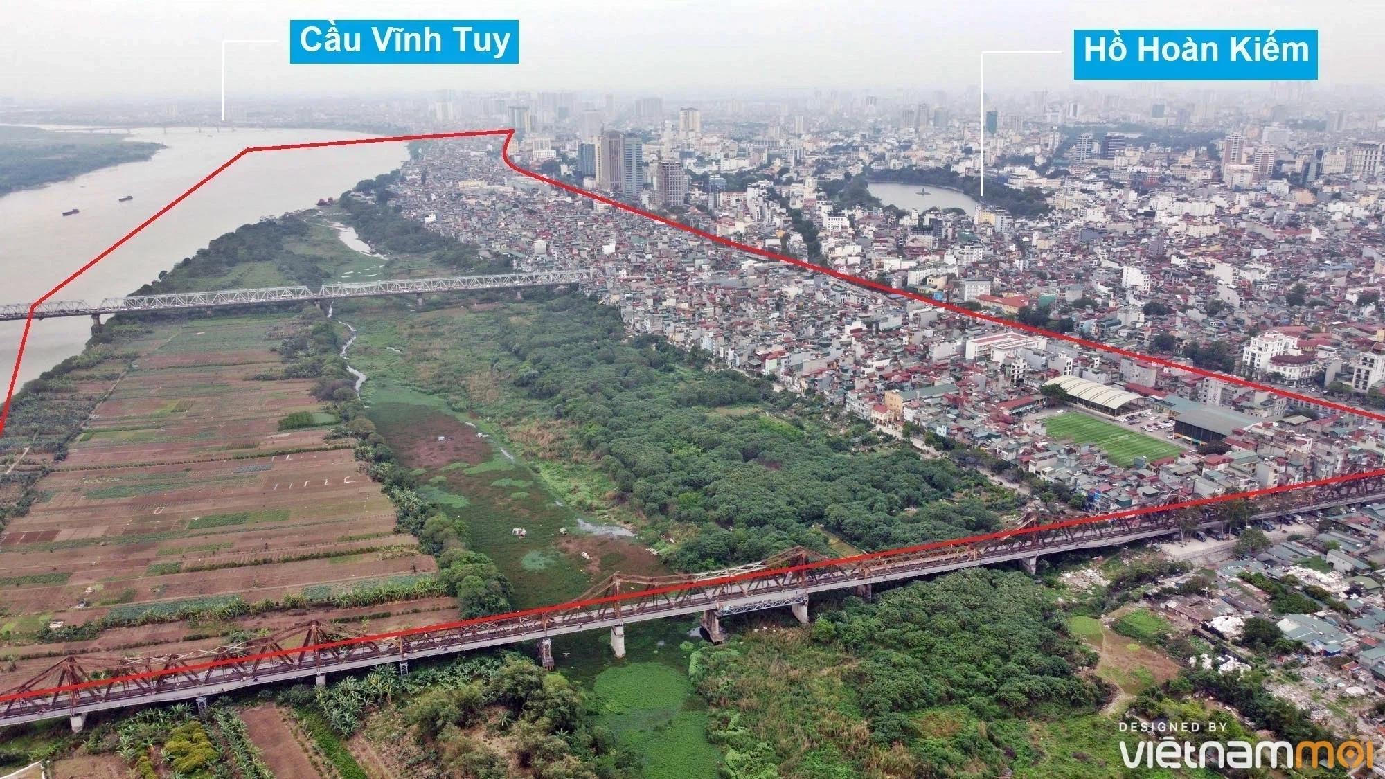 Toàn cảnh hiện trạng Phân khu đô thị sông Hồng trên địa bàn quận Hoàn Kiếm - Ảnh 2.