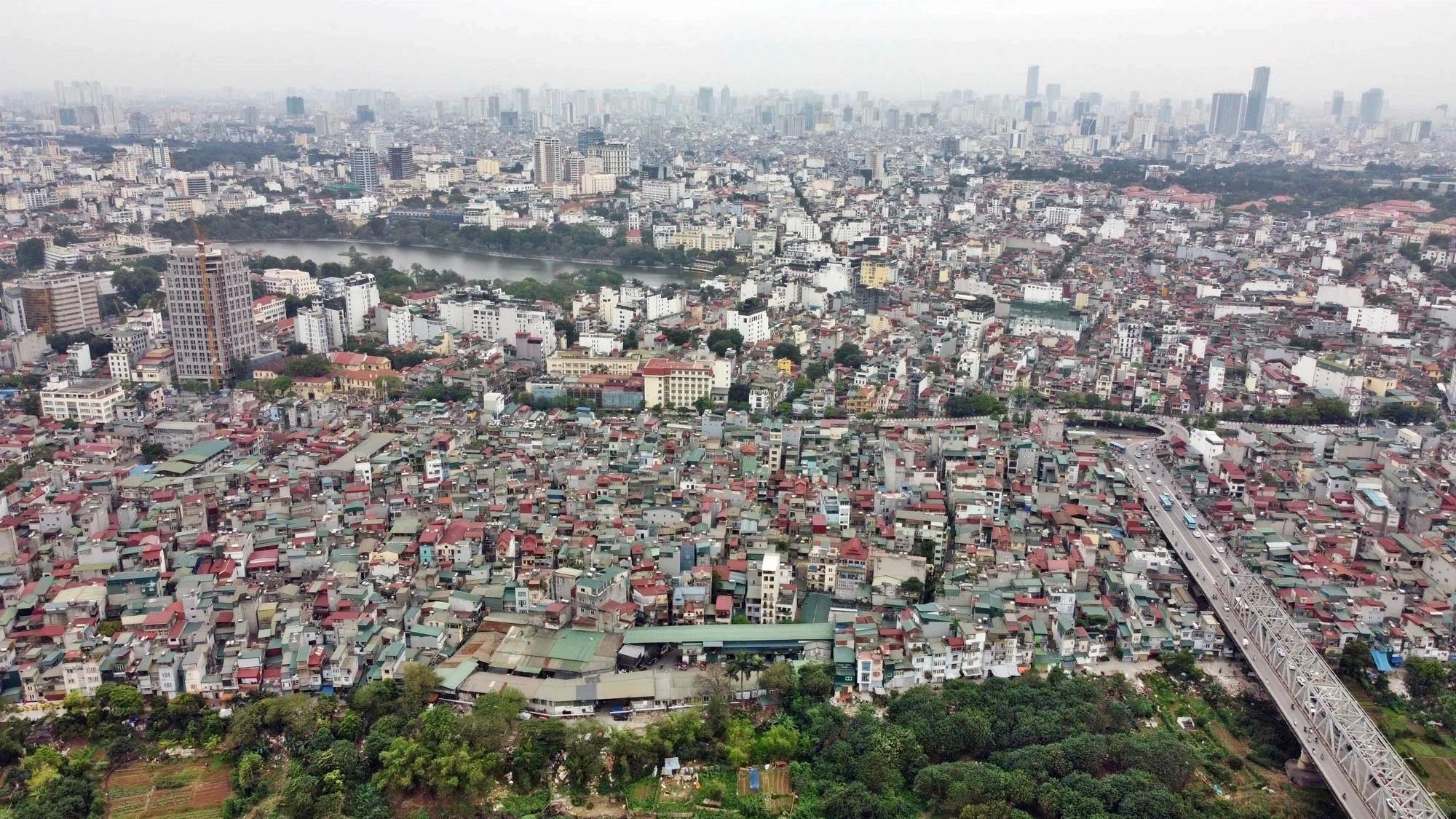 Toàn cảnh hiện trạng Phân khu đô thị sông Hồng trên địa bàn quận Hoàn Kiếm - Ảnh 10.