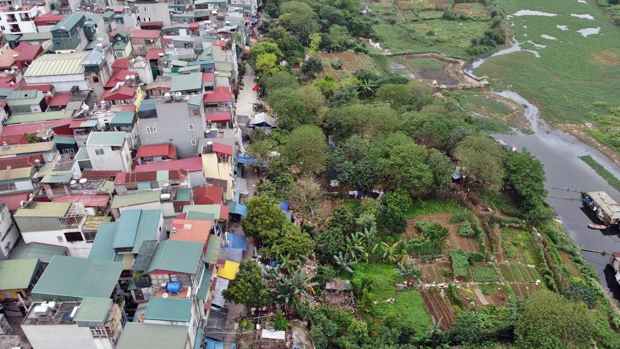 Toàn cảnh hiện trạng Phân khu đô thị sông Hồng trên địa bàn quận Hoàn Kiếm - Ảnh 13.