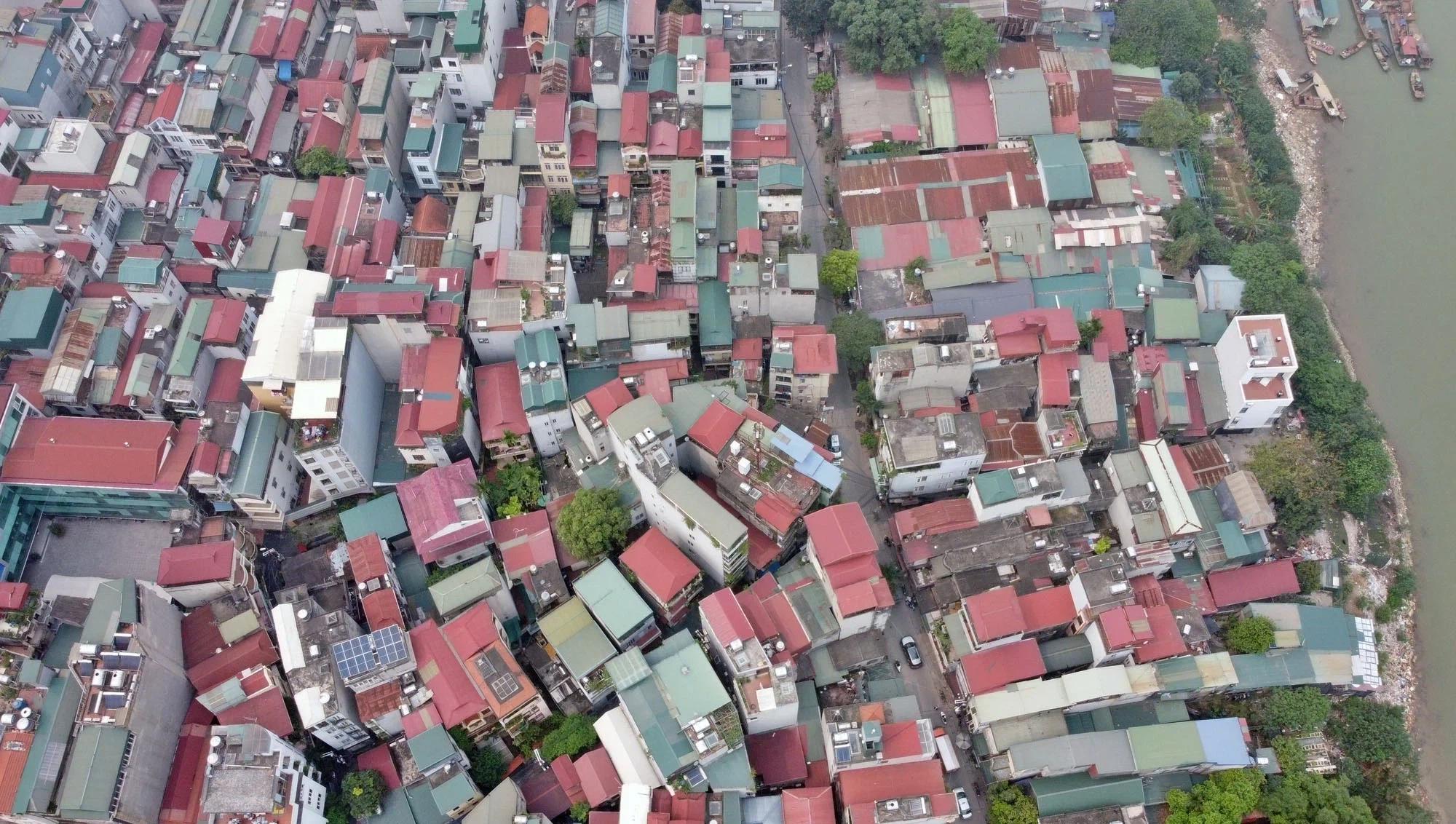 Toàn cảnh hiện trạng Phân khu đô thị sông Hồng trên địa bàn quận Hoàn Kiếm - Ảnh 17.