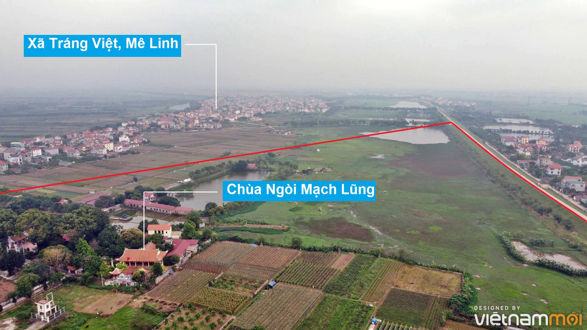 Toàn cảnh hiện trạng Phân khu đô thị sông Hồng trên địa bàn huyện Đông Anh - Ảnh 2.
