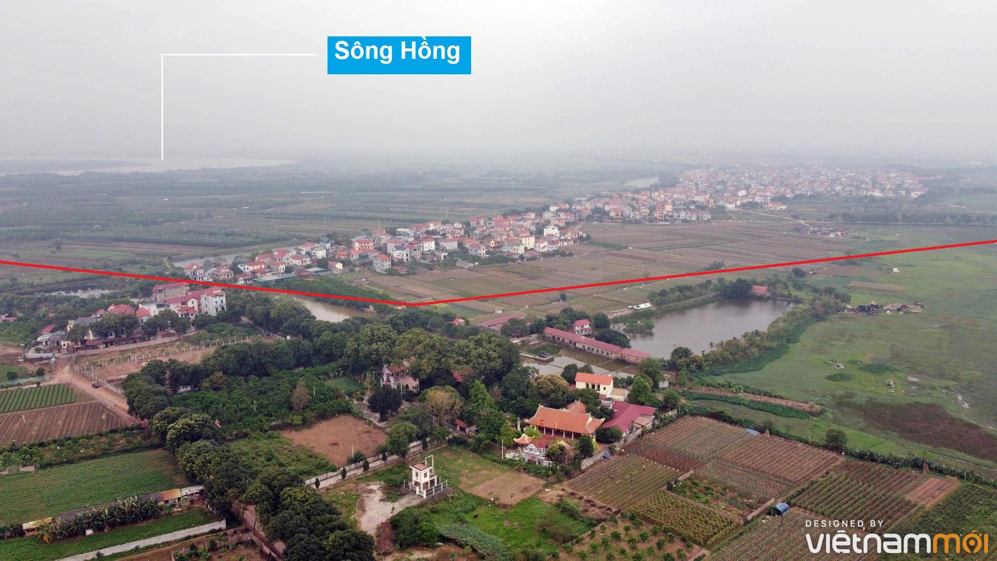 Toàn cảnh hiện trạng Phân khu đô thị sông Hồng trên địa bàn huyện Đông Anh - Ảnh 3.