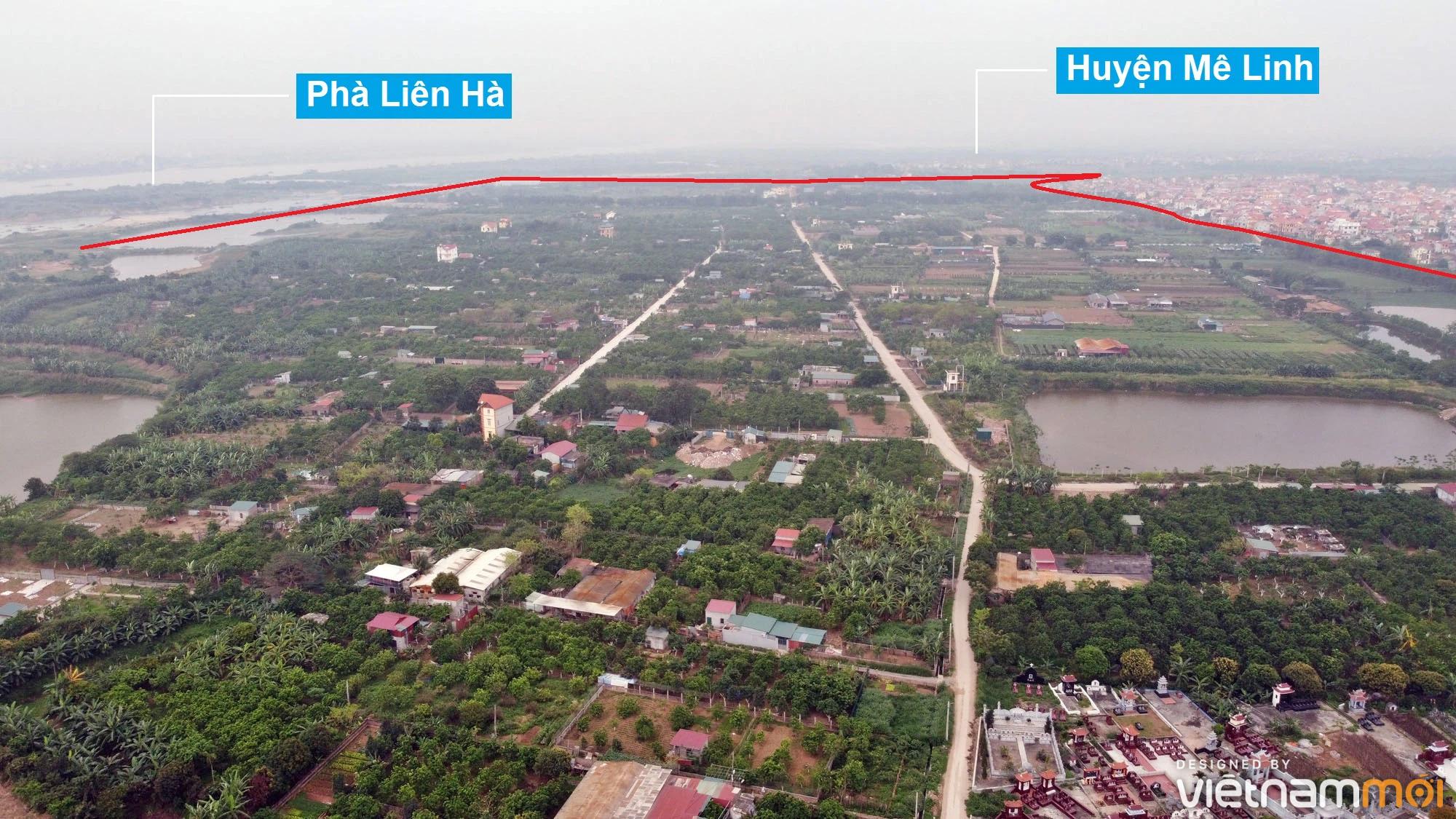 Toàn cảnh hiện trạng Phân khu đô thị sông Hồng trên địa bàn huyện Đông Anh - Ảnh 7.
