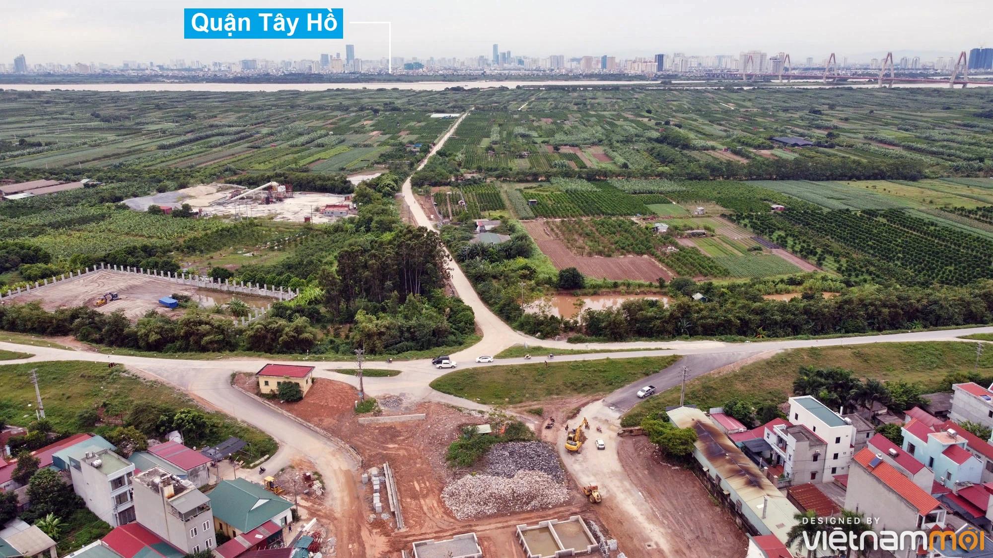 Toàn cảnh hiện trạng Phân khu đô thị sông Hồng trên địa bàn huyện Đông Anh - Ảnh 26.