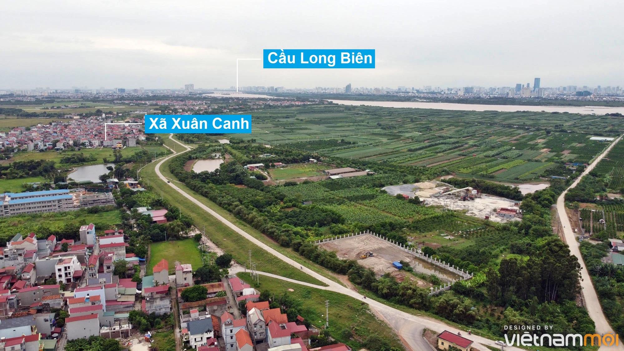 Toàn cảnh hiện trạng Phân khu đô thị sông Hồng trên địa bàn huyện Đông Anh - Ảnh 27.