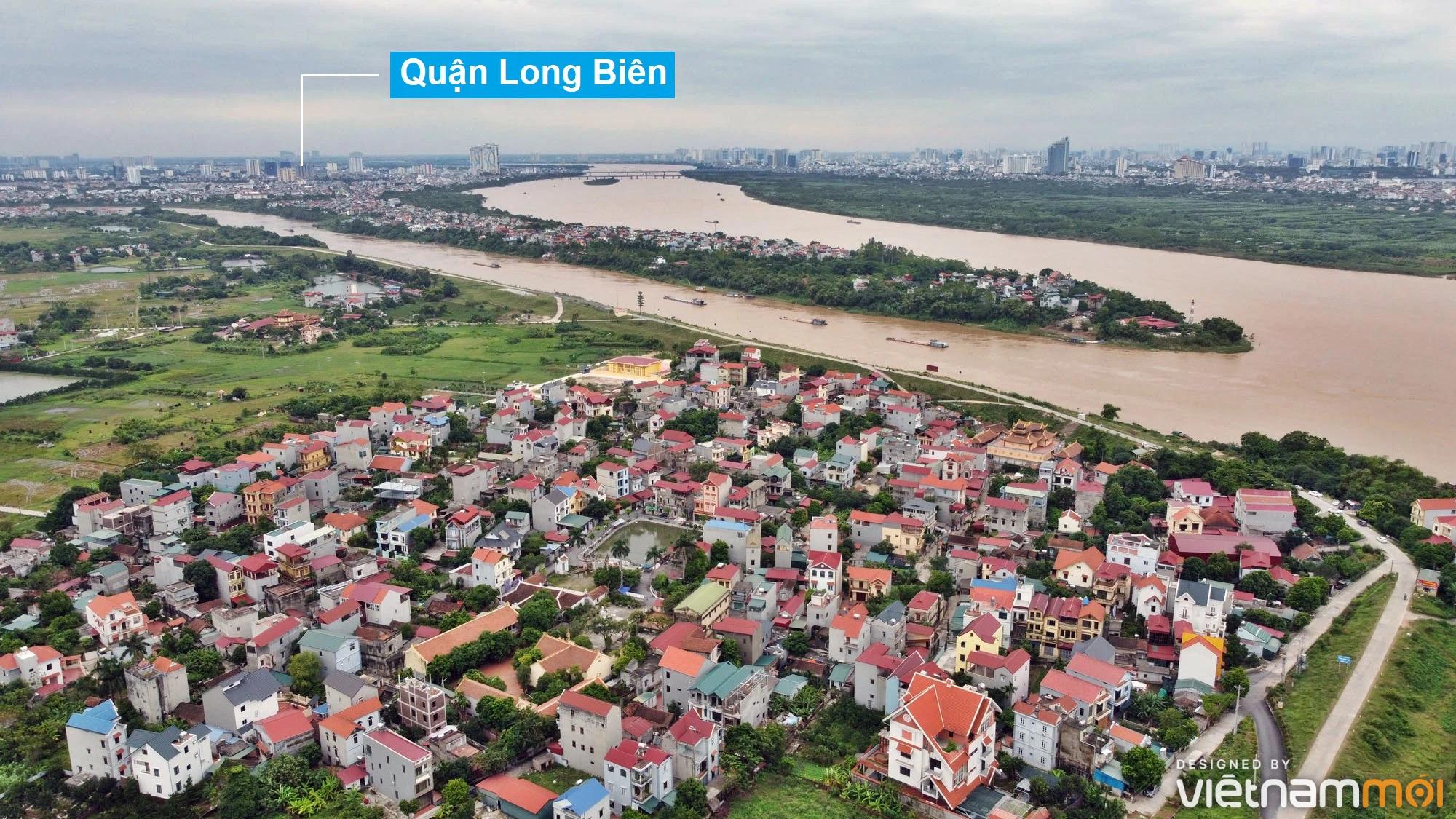 Toàn cảnh hiện trạng Phân khu đô thị sông Hồng trên địa bàn huyện Đông Anh - Ảnh 29.