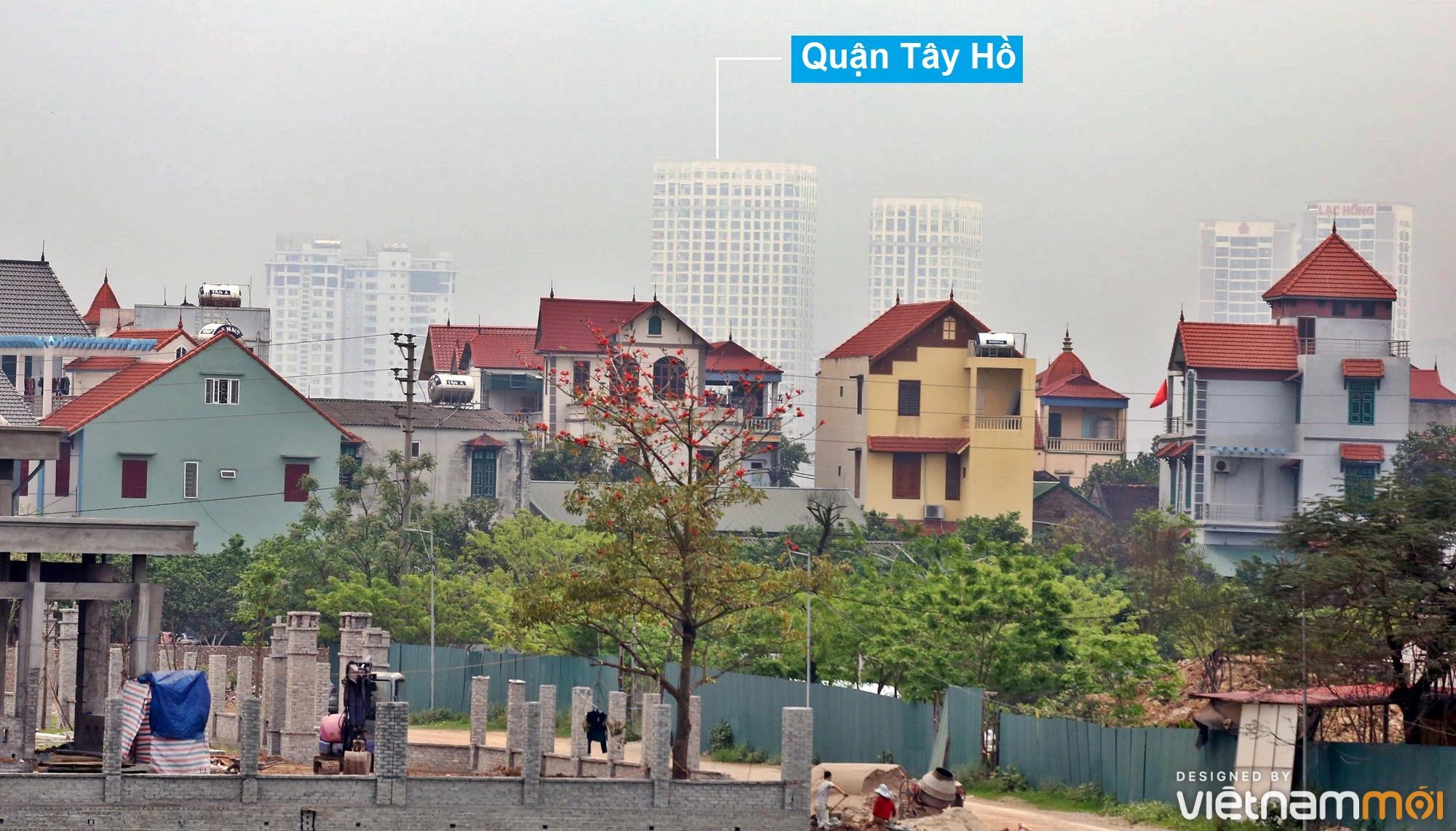 Toàn cảnh hiện trạng Phân khu đô thị sông Hồng trên địa bàn huyện Đông Anh - Ảnh 34.