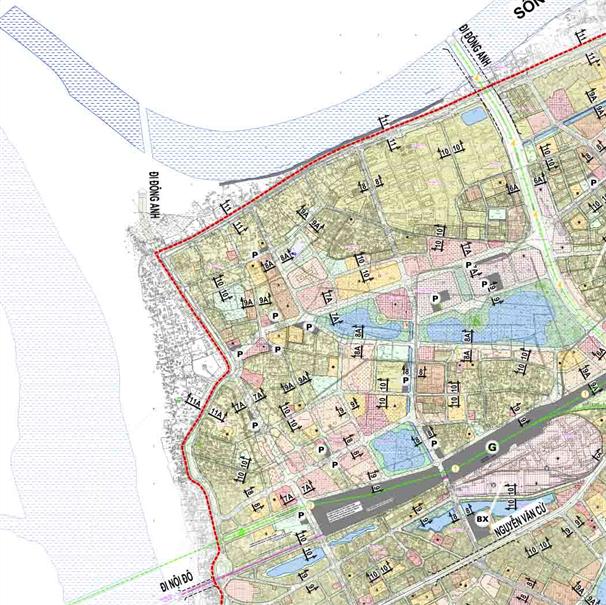 Bản đồ quy hoạch giao thông phường Ngọc Thụy, Long Biên, Hà Nội - Ảnh 2.