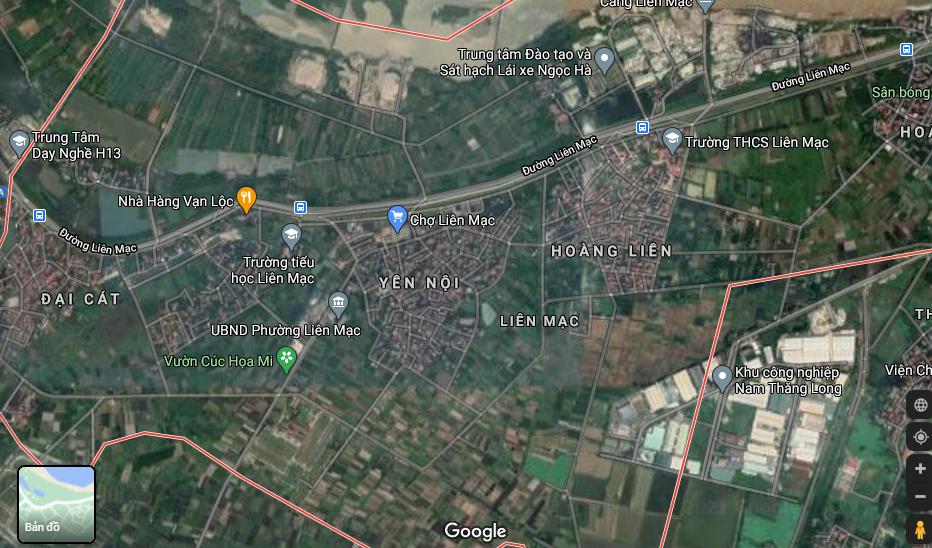 Đất dính quy hoạch ở phường Liên Mạc, Bắc Từ Liêm, Hà Nội - Ảnh 2.
