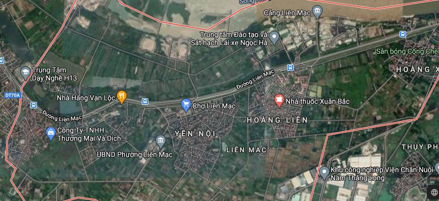 Đường sẽ mở ở phường Liên Mạc, Bắc Từ Liêm, Hà Nội - Ảnh 2.