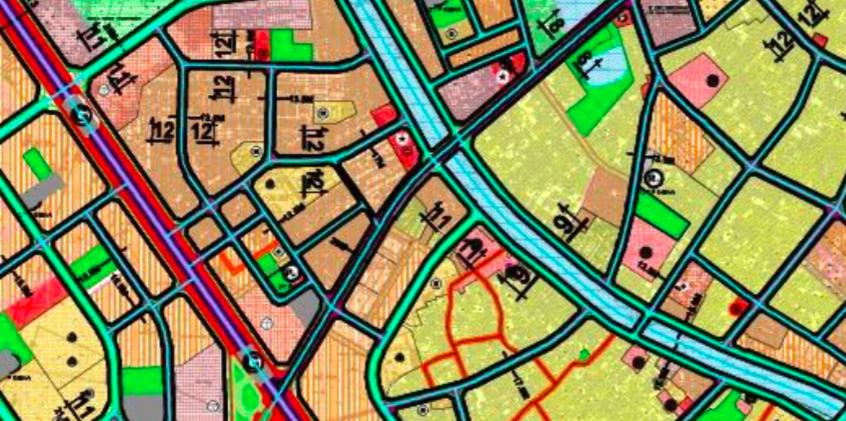 Bản đồ quy hoạch giao thông phường Kim Giang, Thanh Xuân, Hà Nội - Ảnh 2.