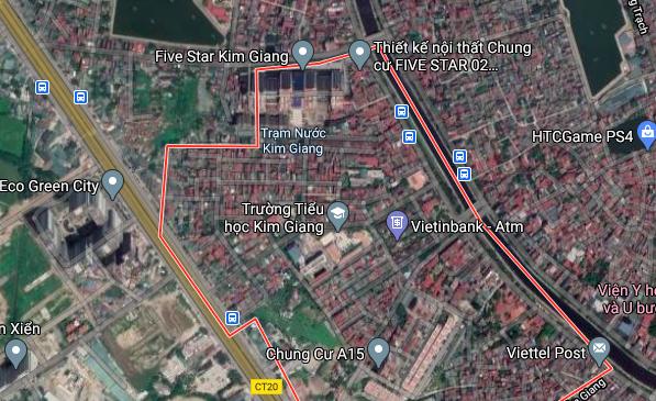 Đất dính quy hoạch ở phường Kim Giang, Thanh Xuân, Hà Nội - Ảnh 2.