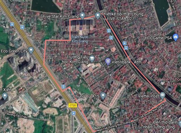 Đường sẽ mở ở phường Kim Giang, Thanh Xuân, Hà Nội - Ảnh 2.
