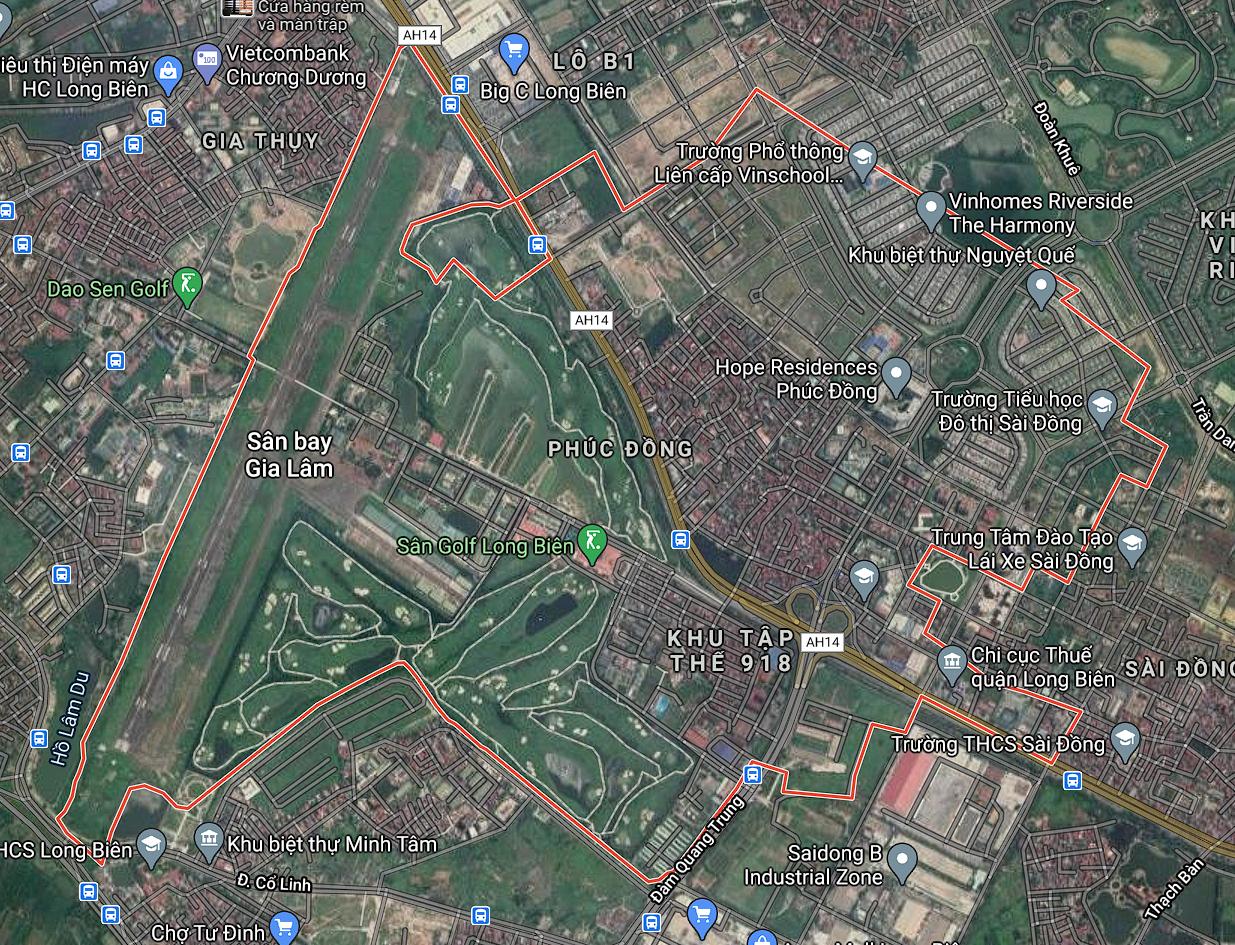 Bản đồ quy hoạch sử dụng đất phường Phúc Đồng, Long Biên, Hà Nội - Ảnh 1.