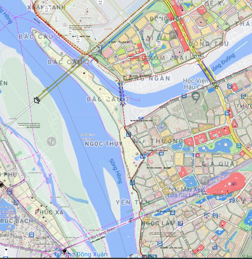 Bản đồ quy hoạch sử dụng đất phường Ngọc Thụy, Long Biên, Hà Nội - Ảnh 2.