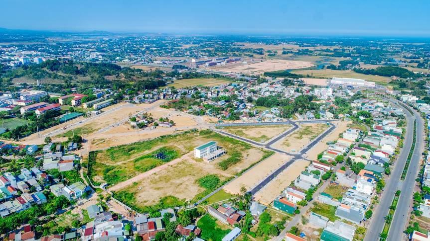 Quảng Ngãi thu tiền sử dụng đất quý I gần 248 tỷ - Ảnh 1.