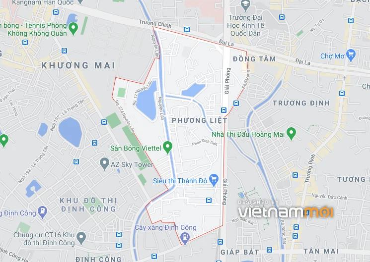 Hai khu đất dính quy hoạch ở phường Phương Liệt, Thanh Xuân, Hà Nội - Ảnh 1.