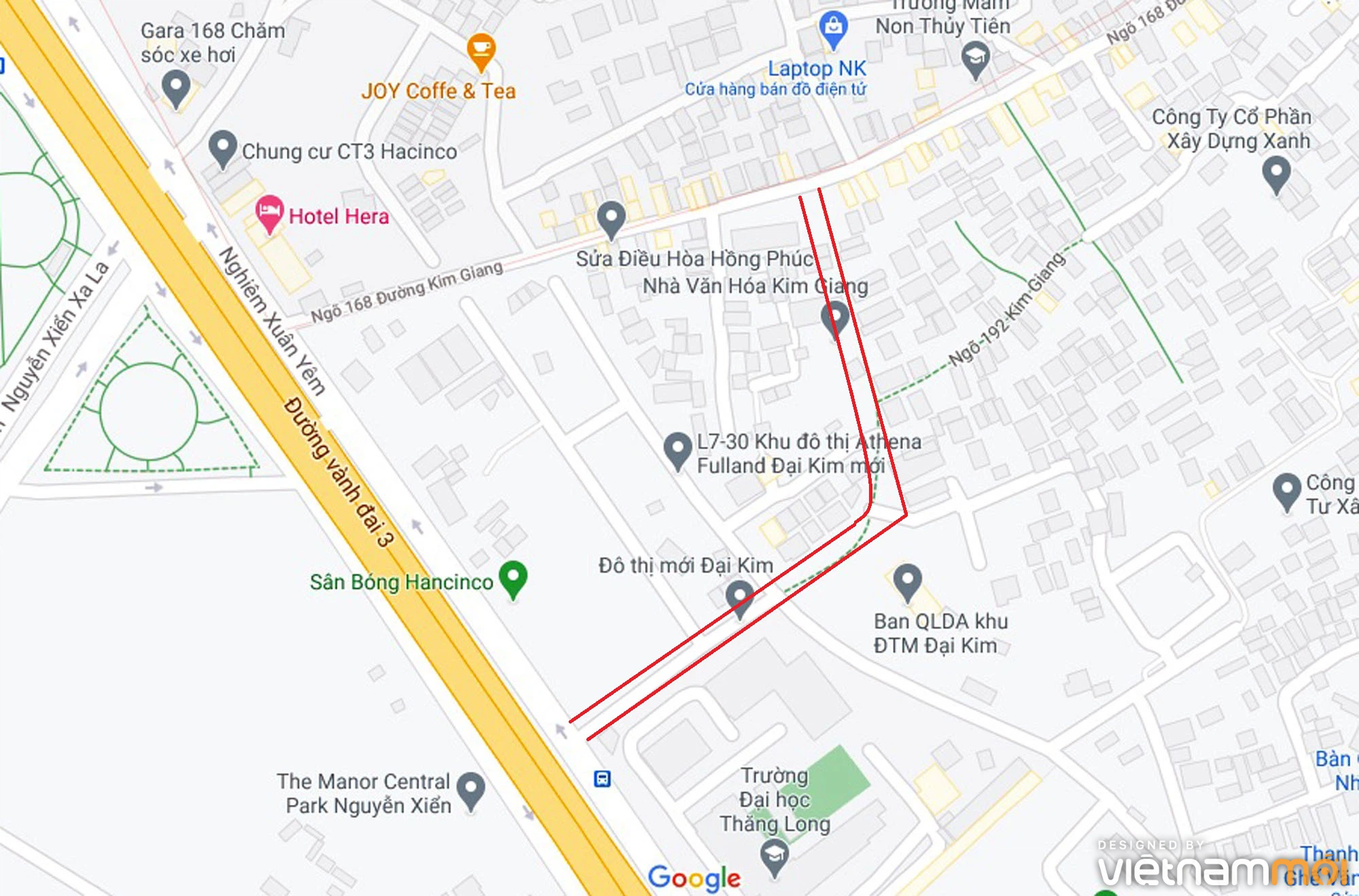 Đường sẽ mở theo quy hoạch ở phường Đại Kim, Hoàng Mai, Hà Nội (phần 3) - Ảnh 2.
