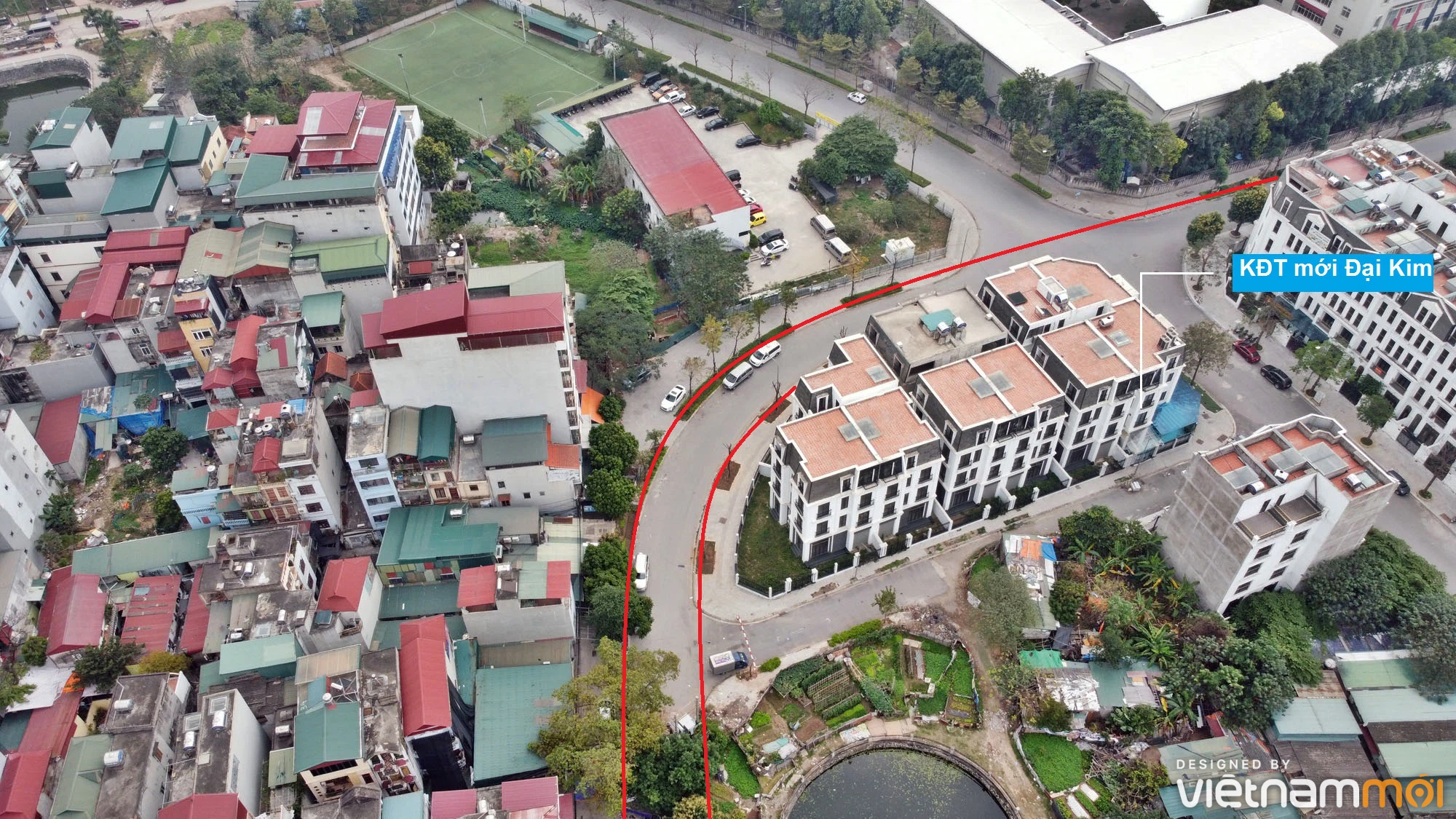 Đường sẽ mở theo quy hoạch ở phường Đại Kim, Hoàng Mai, Hà Nội (phần 3) - Ảnh 4.