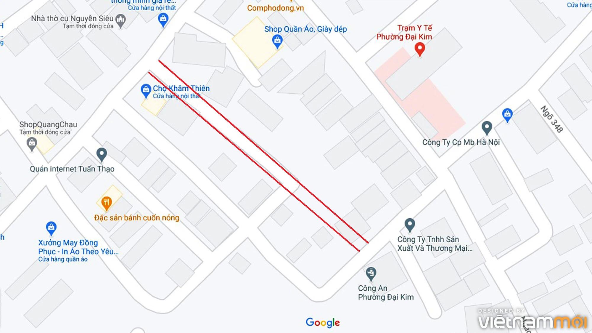 Đường sẽ mở theo quy hoạch ở phường Đại Kim, Hoàng Mai, Hà Nội (phần 3) - Ảnh 10.