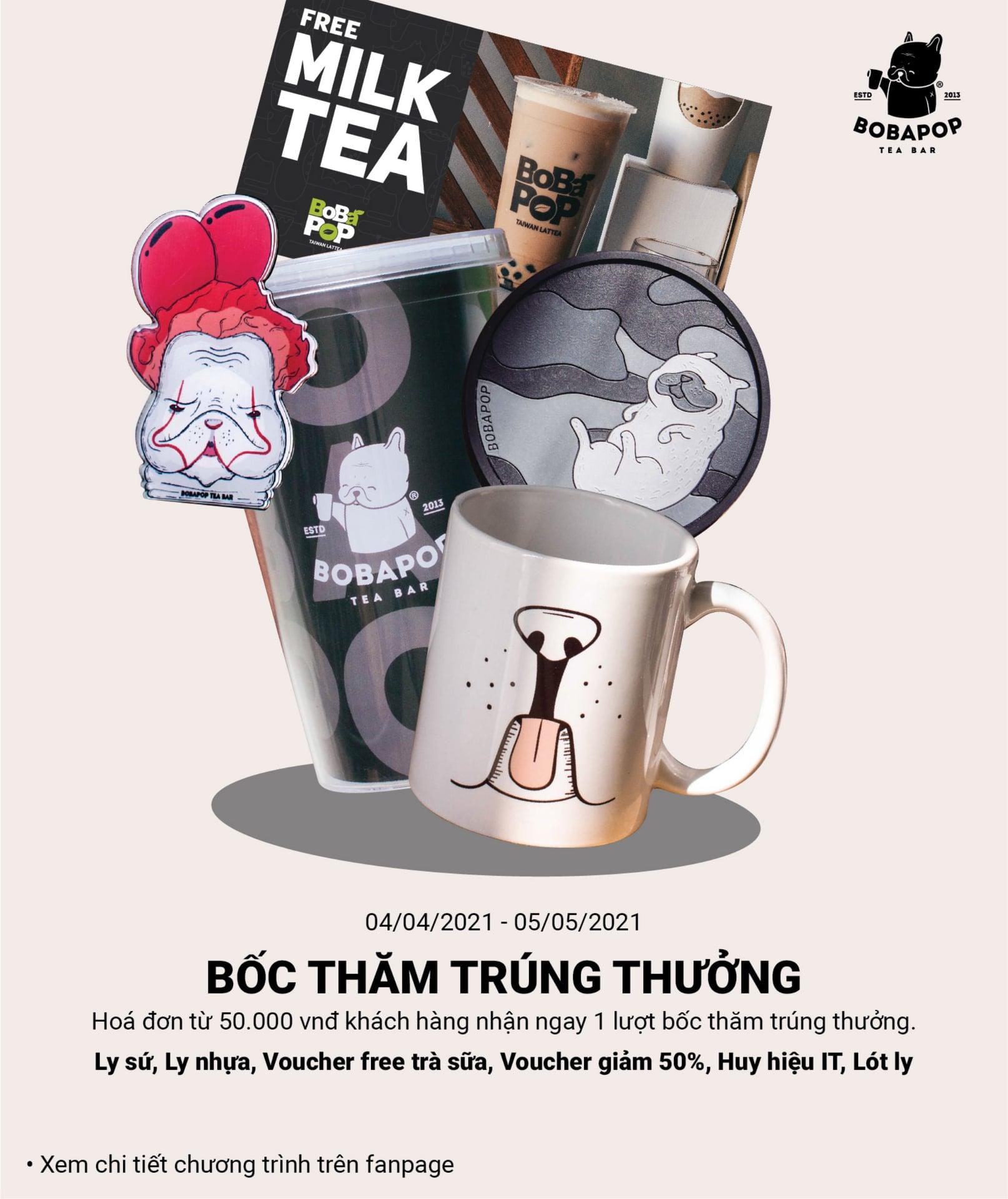 Khuyến mãi ăn uống tuần này (5/4-11/4): ThaiExpress giảm 20%, Bobapop ưu đãi bốc thăm trúng thưởng   - Ảnh 8.