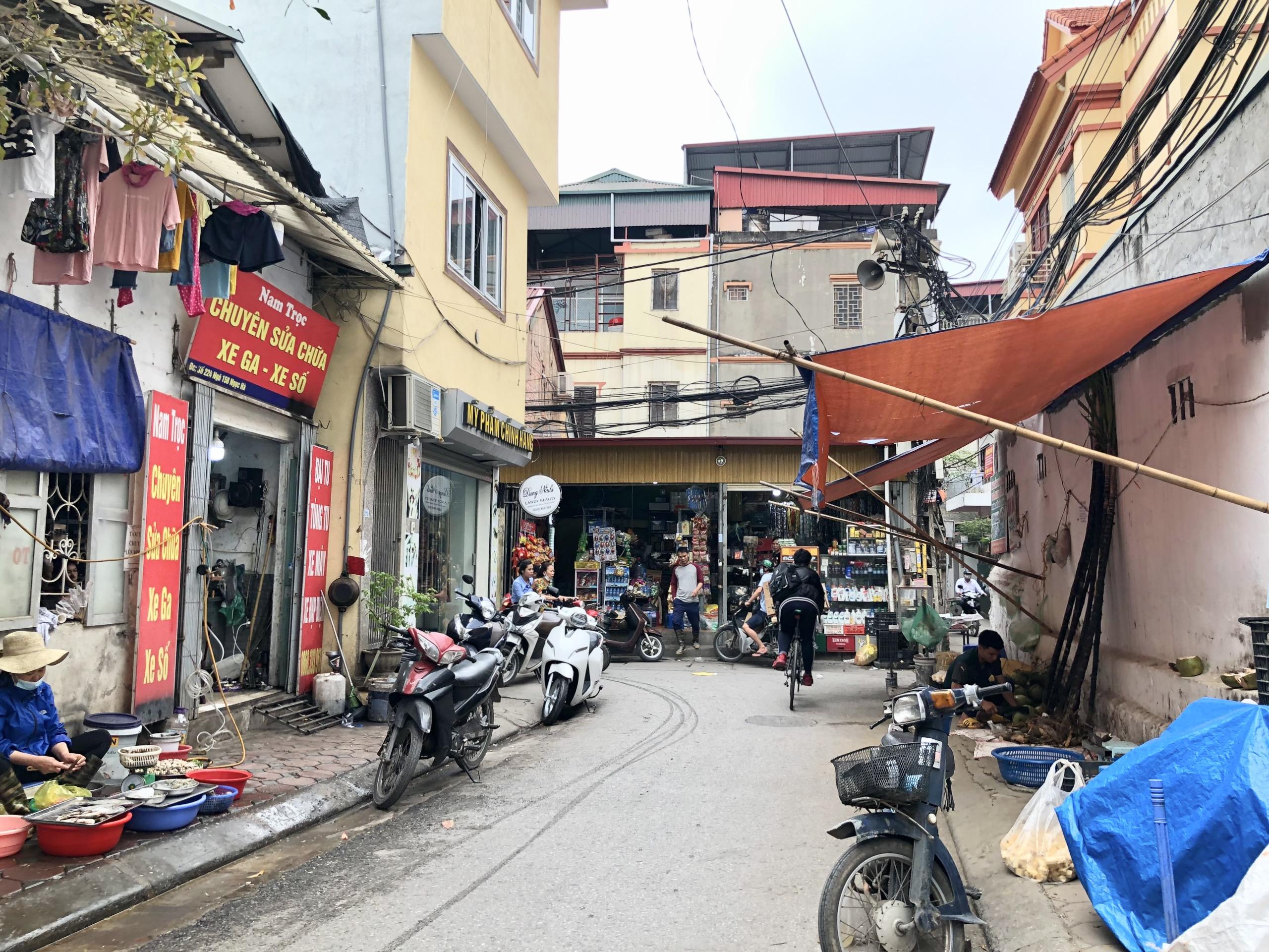 Đường sắp mở theo quy hoạch ở phường Ngọc Hà, quận Ba Đình (phần 1): Đường Kim Mã - Hoàng Hoa Thám  - Ảnh 5.