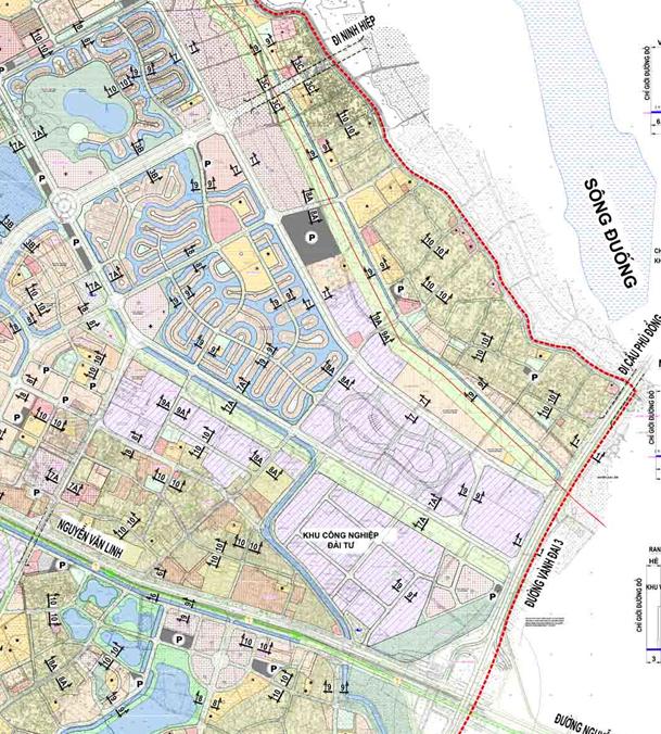 Bản đồ quy hoạch giao thông phường Phúc Lợi, Long Biên, Hà Nội - Ảnh 2.