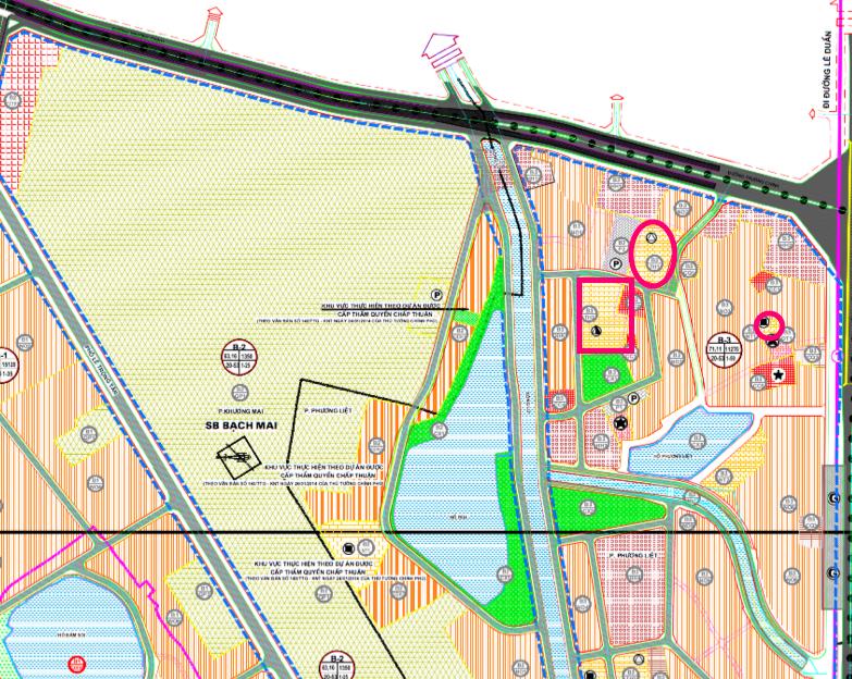 Đất dính quy hoạch ở phường Khương Mai, Thanh Xuân, Hà Nội - Ảnh 1.