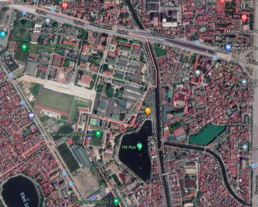 Đất dính quy hoạch ở phường Khương Mai, Thanh Xuân, Hà Nội - Ảnh 2.