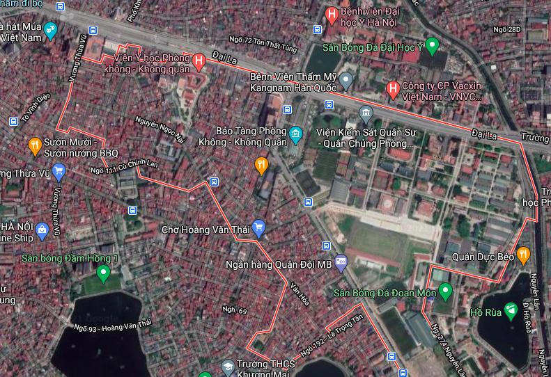 Đường sẽ mở ở phường Khương Mai, Thanh Xuân, Hà Nội - Ảnh 2.